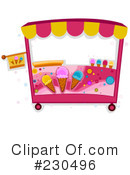 Royalty-Free (RF) Ice Cream Clipart Illustration #230496
