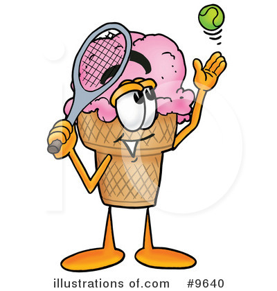 Ice Cream Cone Clipart #9640 by Toons4Biz