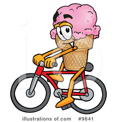Ice Cream Cone Clipart #9641 by Toons4Biz