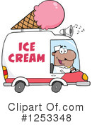 Ice Cream Truck Clipart #1253348 by Hit Toon