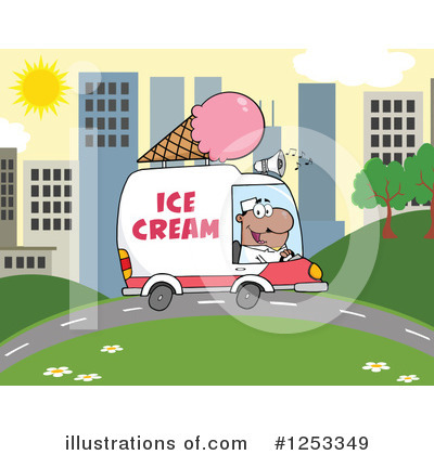 Food Truck Clipart #1253349 by Hit Toon