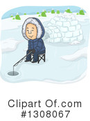 Ice Fishing Clipart #1308067