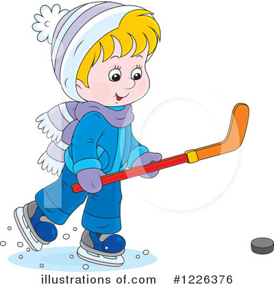 Winter Clipart #1226376 by Alex Bannykh