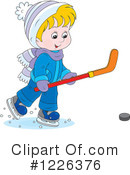 Ice Hockey Clipart #1226376 by Alex Bannykh