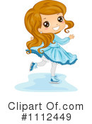 Royalty-Free (RF) Ice Skating Clipart Illustration #1112449