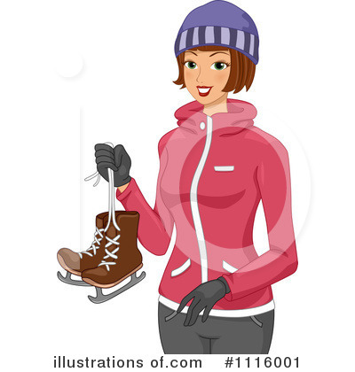 Skating Clipart #1116001 by BNP Design Studio