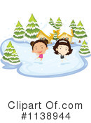 Ice Skating Clipart #1138944 by Graphics RF