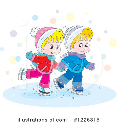 Winter Clipart #1226315 by Alex Bannykh