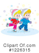 Royalty-Free (RF) Ice Skating Clipart Illustration #1226315