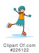 Ice Skating Clipart #226122 by BNP Design Studio