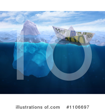 Royalty-Free (RF) Iceberg Clipart Illustration by Mopic - Stock Sample #1106697