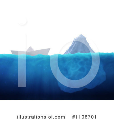Iceberg Clipart #1106701 by Mopic