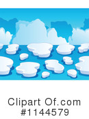 Royalty-Free (RF) iceberg Clipart Illustration #1144579