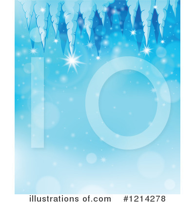 Icicles Clipart #1214278 by visekart