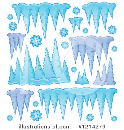 Icicles Clipart #1214279 by visekart