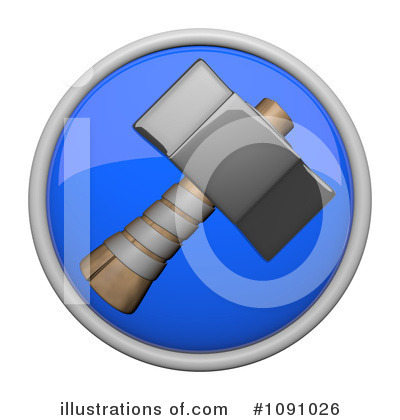 Royalty-Free (RF) Icon Clipart Illustration by Leo Blanchette - Stock Sample #1091026