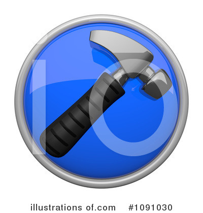 Royalty-Free (RF) Icon Clipart Illustration by Leo Blanchette - Stock Sample #1091030