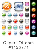 Royalty-Free (RF) Icon Clipart Illustration #1126771