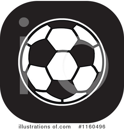 Soccer Clipart #1160496 by Johnny Sajem