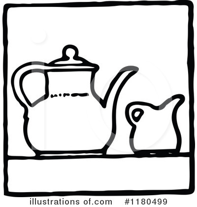 Tea Pot Clipart #1180499 by Prawny Vintage