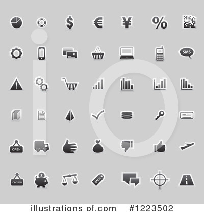Icon Clipart #1223502 by vectorace