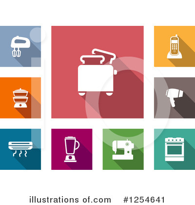 Royalty-Free (RF) Icon Clipart Illustration by Vector Tradition SM - Stock Sample #1254641