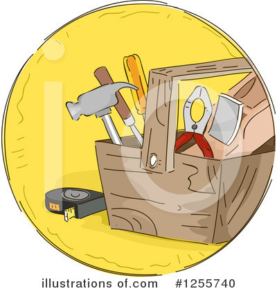Hammer Clipart #1255740 by BNP Design Studio