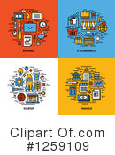 Royalty-Free (RF) Icon Clipart Illustration #1259109