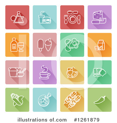 Royalty-Free (RF) Icon Clipart Illustration by AtStockIllustration - Stock Sample #1261879