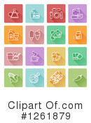 Icon Clipart #1261879 by AtStockIllustration