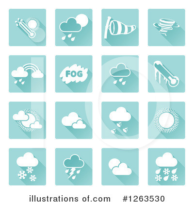 Cloud Clipart #1263530 by AtStockIllustration