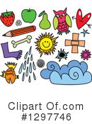 Royalty-Free (RF) Icon Clipart Illustration #1297746