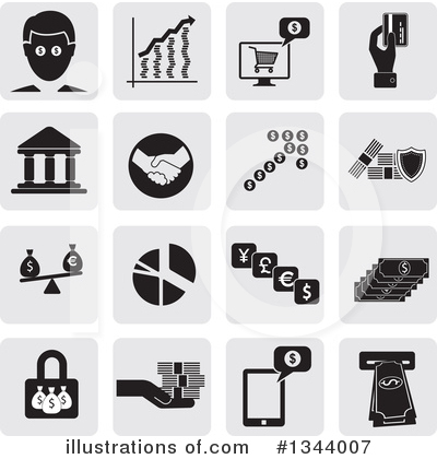 Finance Clipart #1344007 by ColorMagic