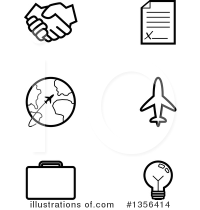 Document Clipart #1356414 by Cory Thoman