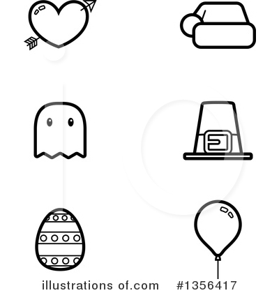Party Balloon Clipart #1356417 by Cory Thoman