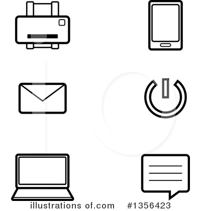 Smart Phone Clipart #1356423 by Cory Thoman