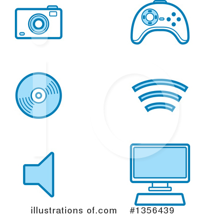 Royalty-Free (RF) Icon Clipart Illustration by Cory Thoman - Stock Sample #1356439