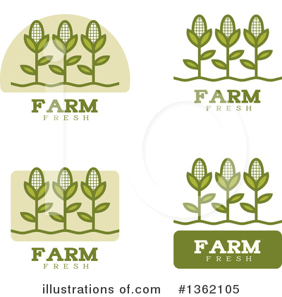 Corn Clipart #1362105 by Cory Thoman