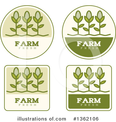 Corn Clipart #1362106 by Cory Thoman