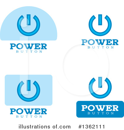 Power Button Clipart #1362111 by Cory Thoman