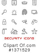 Royalty-Free (RF) Icon Clipart Illustration #1371529