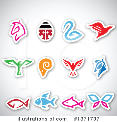 Royalty-Free (RF) Icon Clipart Illustration by cidepix - Stock Sample #1371707