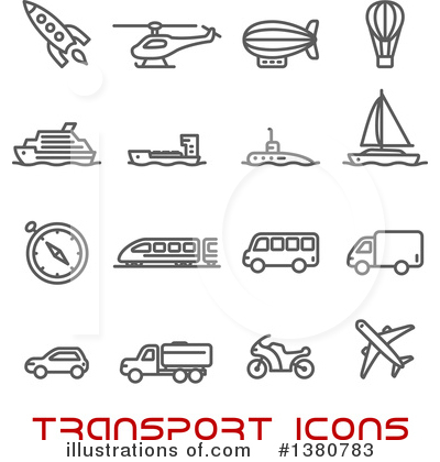 Rocket Clipart #1380783 by Vector Tradition SM