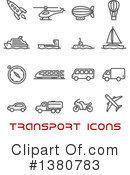 Royalty-Free (RF) Icon Clipart Illustration #1380783