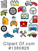 Royalty-Free (RF) Icon Clipart Illustration #1380826