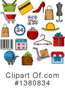 Royalty-Free (RF) Icon Clipart Illustration #1380834