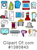 Royalty-Free (RF) Icon Clipart Illustration #1380843