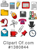 Royalty-Free (RF) Icon Clipart Illustration #1380844
