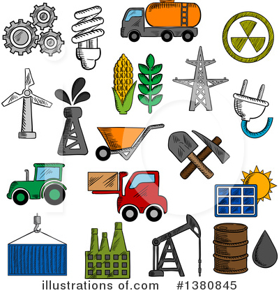 Solar Energy Clipart #1380845 by Vector Tradition SM