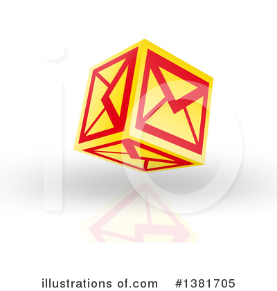 Email Clipart #1381705 by MacX